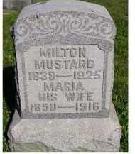 MUSTARD, MILTON - Scioto County, Ohio | MILTON MUSTARD - Ohio Gravestone Photos