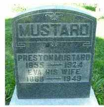 MUSTARD, PRESTON - Scioto County, Ohio | PRESTON MUSTARD - Ohio Gravestone Photos