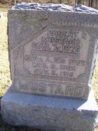 MUSTARD, CORA A. - Scioto County, Ohio | CORA A. MUSTARD - Ohio Gravestone Photos
