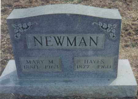 NEWMAN, MARY M. - Scioto County, Ohio | MARY M. NEWMAN - Ohio Gravestone Photos