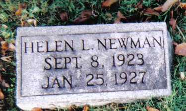 NEWMAN, HELEN L. - Scioto County, Ohio | HELEN L. NEWMAN - Ohio Gravestone Photos