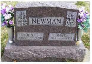 NEWMAN, OMA D. - Scioto County, Ohio | OMA D. NEWMAN - Ohio Gravestone Photos