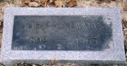 NEWMAN, JOHN A. - Scioto County, Ohio | JOHN A. NEWMAN - Ohio Gravestone Photos