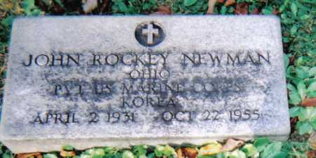 NEWMAN, JOHN ROCKEY - Scioto County, Ohio | JOHN ROCKEY NEWMAN - Ohio Gravestone Photos