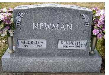 NEWMAN, MILDRED A. - Scioto County, Ohio | MILDRED A. NEWMAN - Ohio Gravestone Photos