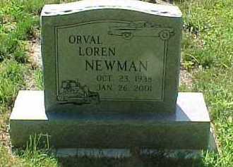 NEWMAN, ORVAL LOREN - Scioto County, Ohio | ORVAL LOREN NEWMAN - Ohio Gravestone Photos