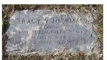 NEWMAN, TRACY V. - Scioto County, Ohio | TRACY V. NEWMAN - Ohio Gravestone Photos