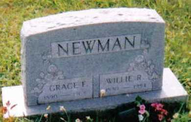 NEWMAN, WILLIE R. - Scioto County, Ohio | WILLIE R. NEWMAN - Ohio Gravestone Photos