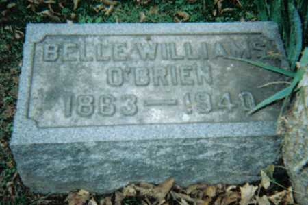 WILLIAMS O'BRIEN, BELLE - Scioto County, Ohio | BELLE WILLIAMS O'BRIEN - Ohio Gravestone Photos