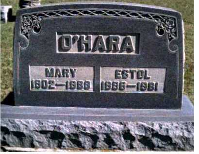 O'HARA, ESTOL - Scioto County, Ohio | ESTOL O'HARA - Ohio Gravestone Photos