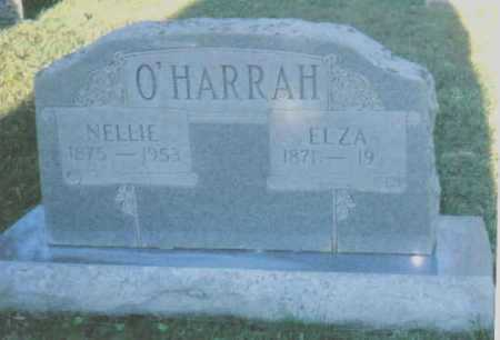 O'HARRAH, ELZA - Scioto County, Ohio | ELZA O'HARRAH - Ohio Gravestone Photos