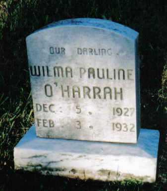 O'HARRAH, WILMA PAULINE - Scioto County, Ohio | WILMA PAULINE O'HARRAH - Ohio Gravestone Photos