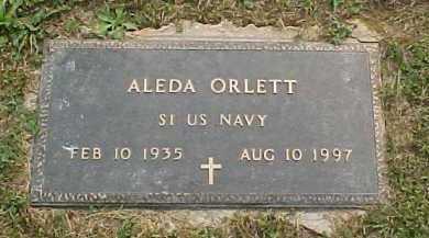 ORLETT, ALEDA - Scioto County, Ohio | ALEDA ORLETT - Ohio Gravestone Photos