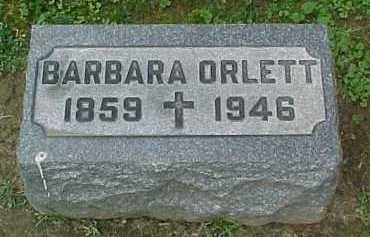 ORLETT, BARBARA - Scioto County, Ohio | BARBARA ORLETT - Ohio Gravestone Photos