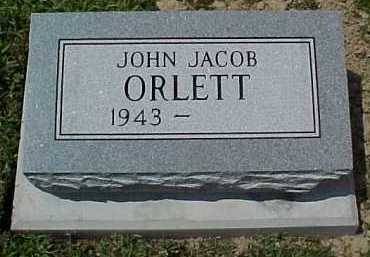 ORLETT, JOHN JACOB - Scioto County, Ohio | JOHN JACOB ORLETT - Ohio Gravestone Photos