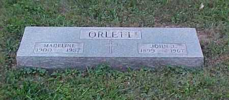 ORLETT, MADELINE - Scioto County, Ohio | MADELINE ORLETT - Ohio Gravestone Photos