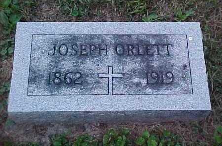 ORLETT, JOSEPH - Scioto County, Ohio   JOSEPH ORLETT - Ohio Gravestone Photos