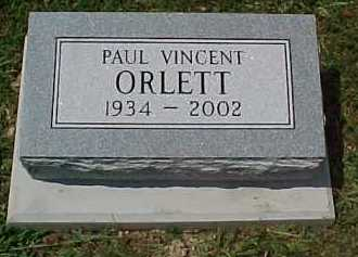 ORLETT, PAUL VINCENT - Scioto County, Ohio | PAUL VINCENT ORLETT - Ohio Gravestone Photos