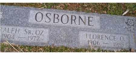 OSBORNE, RALPH SR. - Scioto County, Ohio | RALPH SR. OSBORNE - Ohio Gravestone Photos