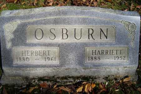 OSBURN, HARRIETT - Scioto County, Ohio | HARRIETT OSBURN - Ohio Gravestone Photos