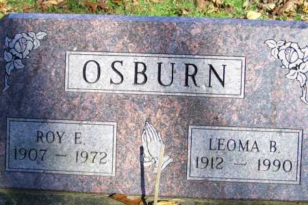 OSBURN, ROY E. - Scioto County, Ohio | ROY E. OSBURN - Ohio Gravestone Photos