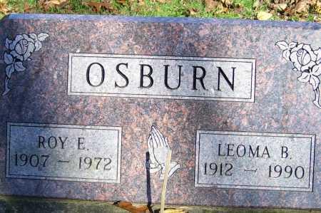 OSBURN, LEOMA B. - Scioto County, Ohio | LEOMA B. OSBURN - Ohio Gravestone Photos