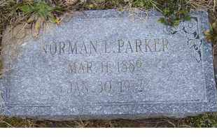 PARKER, NORMAN L. - Scioto County, Ohio | NORMAN L. PARKER - Ohio Gravestone Photos