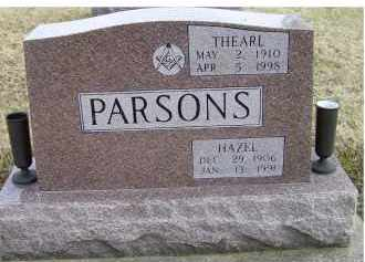 PARSONS, THEARL - Scioto County, Ohio | THEARL PARSONS - Ohio Gravestone Photos