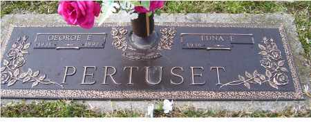 PERTUSET, GEORGE E. - Scioto County, Ohio | GEORGE E. PERTUSET - Ohio Gravestone Photos