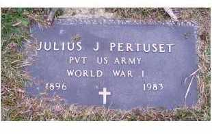 PERTUSET, JULIUS J. - Scioto County, Ohio | JULIUS J. PERTUSET - Ohio Gravestone Photos