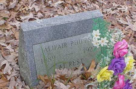 PHIPPS, ALIFAIR - Scioto County, Ohio | ALIFAIR PHIPPS - Ohio Gravestone Photos