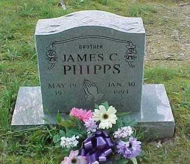PHIPPS, JAMES C. - Scioto County, Ohio | JAMES C. PHIPPS - Ohio Gravestone Photos