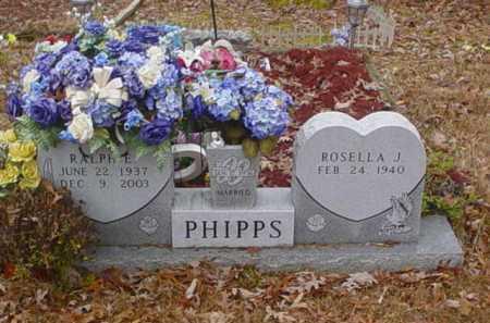 PHIPPS, ROSELLA J. - Scioto County, Ohio | ROSELLA J. PHIPPS - Ohio Gravestone Photos