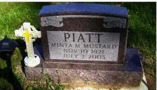 PIATT, MINTA M. - Scioto County, Ohio | MINTA M. PIATT - Ohio Gravestone Photos