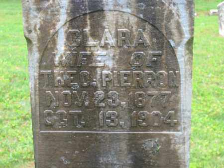 PIERRON, CLARA - Scioto County, Ohio | CLARA PIERRON - Ohio Gravestone Photos
