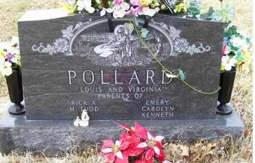 POLLARD, VIRGINIA - Scioto County, Ohio | VIRGINIA POLLARD - Ohio Gravestone Photos