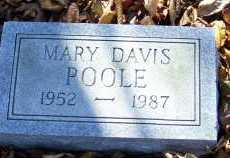 DAVIS POOLE, MARY - Scioto County, Ohio | MARY DAVIS POOLE - Ohio Gravestone Photos