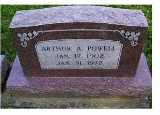 POWELL, ARTHUR A. - Scioto County, Ohio | ARTHUR A. POWELL - Ohio Gravestone Photos