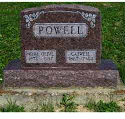 POWELL, NORA OLIVE - Scioto County, Ohio | NORA OLIVE POWELL - Ohio Gravestone Photos