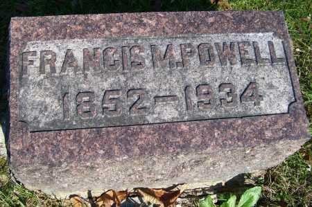 POWELL, FRANCIS M. - Scioto County, Ohio | FRANCIS M. POWELL - Ohio Gravestone Photos