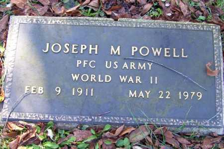 POWELL, JOSEPH M. - Scioto County, Ohio | JOSEPH M. POWELL - Ohio Gravestone Photos