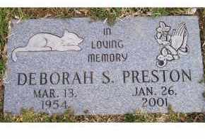 PRESTON, DEBORAH S. - Scioto County, Ohio | DEBORAH S. PRESTON - Ohio Gravestone Photos