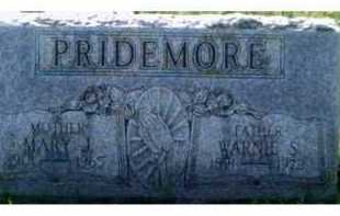 PRIDEMORE, WARNIE S. - Scioto County, Ohio | WARNIE S. PRIDEMORE - Ohio Gravestone Photos