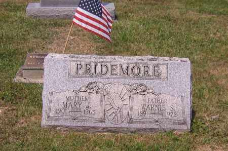 PRIDEMORE, MARY JANE - Scioto County, Ohio | MARY JANE PRIDEMORE - Ohio Gravestone Photos