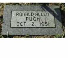 PUGH, RONALD ALLEN - Scioto County, Ohio | RONALD ALLEN PUGH - Ohio Gravestone Photos