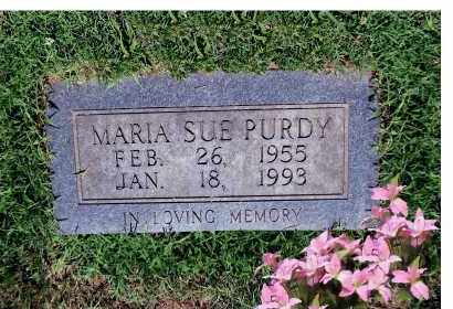 SUE PURDY, MARIA - Scioto County, Ohio | MARIA SUE PURDY - Ohio Gravestone Photos