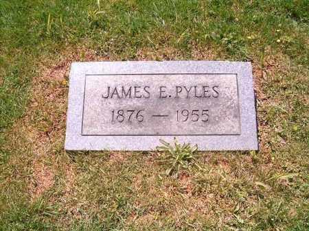 PYLES, JAMES  E - Scioto County, Ohio | JAMES  E PYLES - Ohio Gravestone Photos