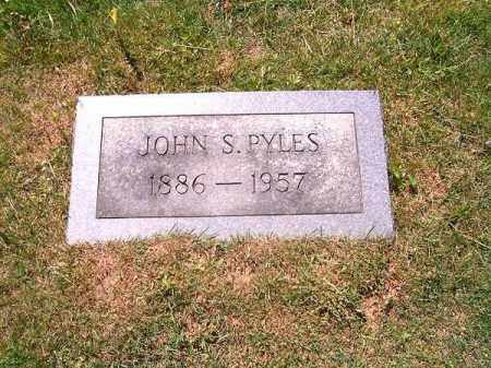 PYLES, JOHN  S - Scioto County, Ohio | JOHN  S PYLES - Ohio Gravestone Photos