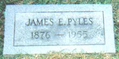 PYLES, JAMES E. - Scioto County, Ohio | JAMES E. PYLES - Ohio Gravestone Photos