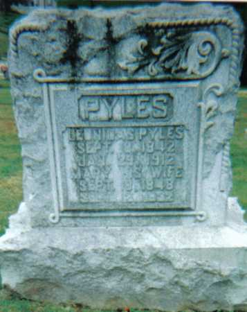 PYLES, LE_NI_AS - Scioto County, Ohio | LE_NI_AS PYLES - Ohio Gravestone Photos